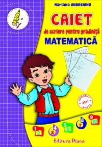 Caiet scriere pentru gradinita MATEMATICA