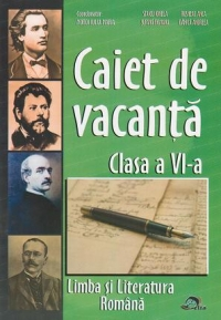 Caiet vacanta Limba literatura romana