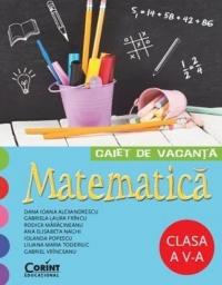 Caiet de vacanta - Matematica Clasa a V-a