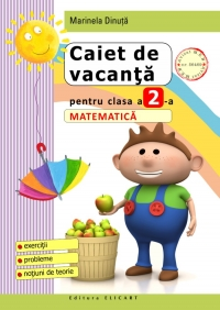 Caiet vacanta pentru clasa Matematica