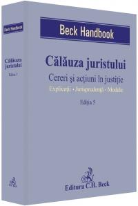 Calauza juristului Cereri actiuni justitie