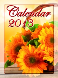 Calendar 2013 Flori
