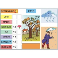 Calendarul naturii