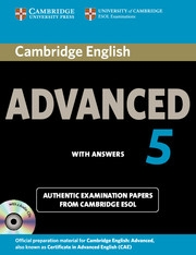 Cambridge English Advanced Self study
