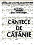 Cantece de catanie - vol. 1