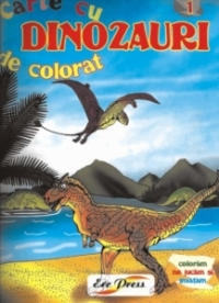 Carte colorat Dinozauri