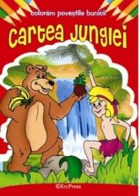 Cartea junglei carte colorat (colectia