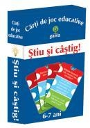 Carti joc educative Stiu castig