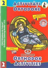 Carti ortodoxe de colorat - Activitati ortodoxe 2 / Orthodox Activities 2