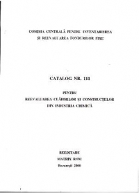CATALOAGE REEVALUARE CLADIRILOR CONSTRUCTIILOR SPECIALE