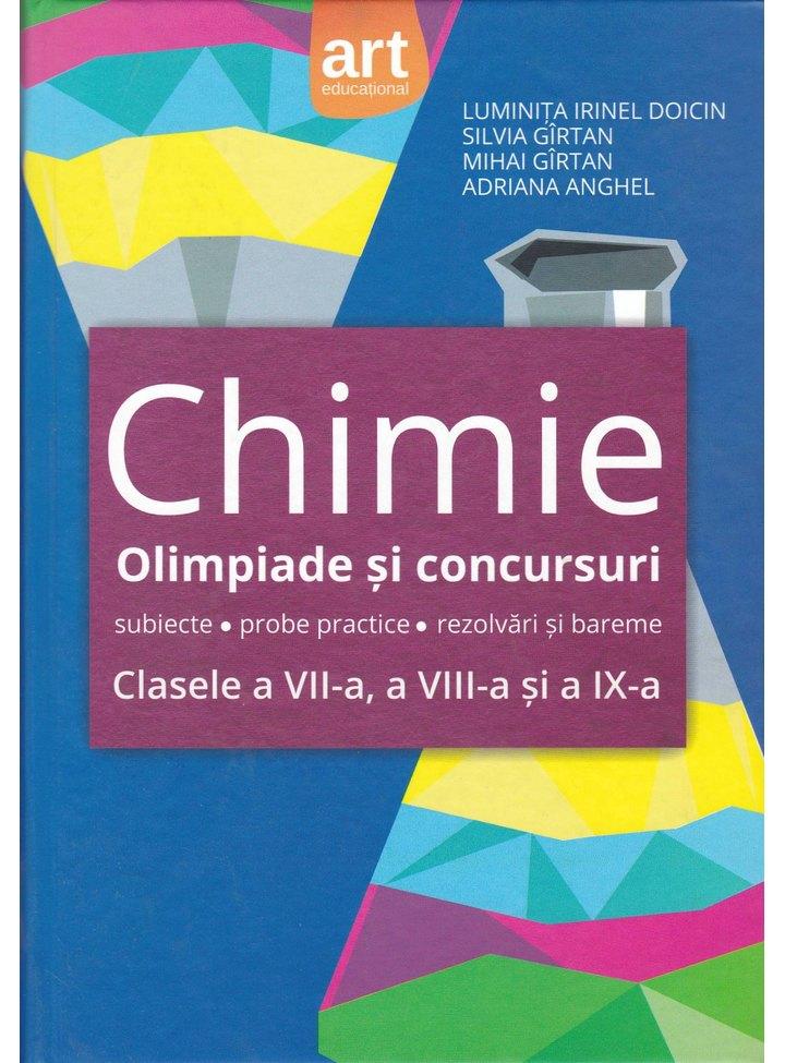 Chimie anorganica. Olimpiade si concursuri - subiecte, probe practice, rezolvari si bareme. Clasele a VII-a, a VIII-a, si a IX-a