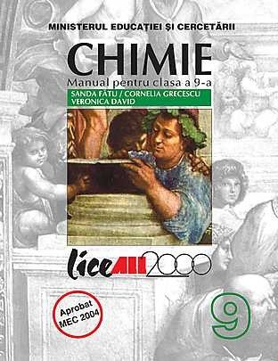 Chimie (C1) Manual pentru clasa