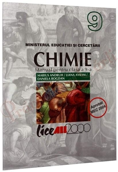CHIMIE MANUAL PENTRU CLASA