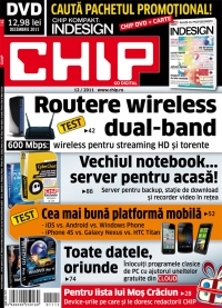 Chip DVD Decembrie 2011