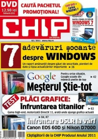 CHIP DVD Februarie 2011