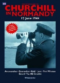 Churchill Normandy June 1944
