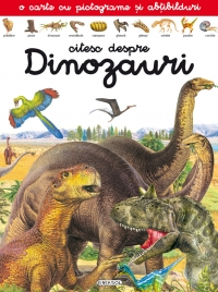 Citesc despre Dinozauri carte pictograme