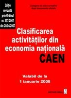 Clasificarea activitatilor din economia nationala