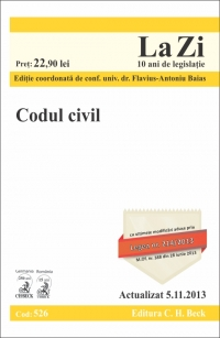 Codul civil (actualizat data 2013)