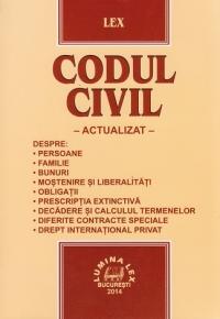 Codul civil actualizat (2014)