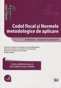 Codul fiscal Normele metodologice aplicare