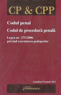 Codul penal Codul procedura penala