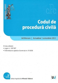 Codul procedura civila Litteram Actualizat