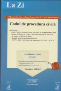 Codul procedura civila Actualizat 2013(cod