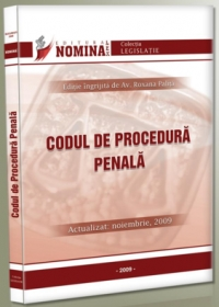 Codul procedura penala (actualizat noiembrie