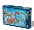 Colectie Cartoon Iarna Puzzle 1000