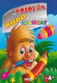 coloram Bodo Cartea mea colorat