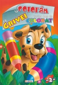 coloram Grivei Cartea mea colorat