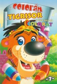 coloram Tigrisor Cartea mea colorat