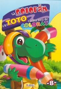 coloram Toto Cartea mea colorat
