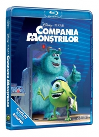 Compania monstrilor (Blu ray Disc)