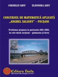 Concursul de Matematica Aplicata Anghel Saligny - Focsani
