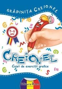 CREIONEL - caiet de exercitii grafice 5-6 ANI (editie 2014)
