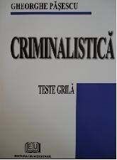 Criminalistica. Teste grila
