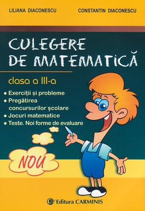 Culegere matematica clasa III Exercitii