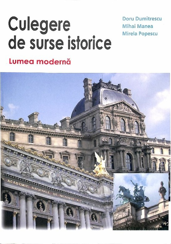 Culegere surse istorice Lumea moderna