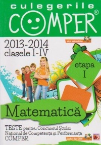 CULEGERILE COMPER MATEMATICA CLASELE ETAPA