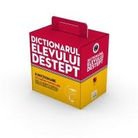 Cutie cadou Dictionarul elevului destept (8 carti)