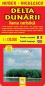 Delta Dunarii. Harta turistica si rutiera
