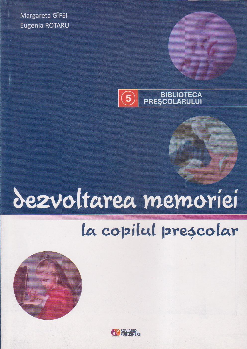 Dezvoltarea memoriei la copilul prescolar