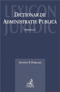 Dictionar administratie publica Editia