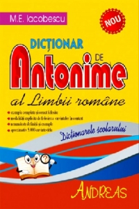 Dictionar Antonime Limbii Romane