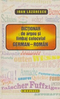 Dictionar argou limbaj colocvial German