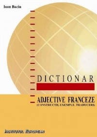 Dictionar de adjective franceze