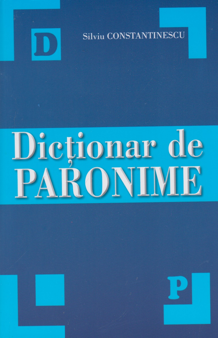 Dictionar paronime scolar