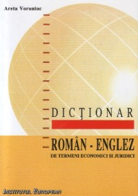 Dictionar termeni economici juridici (roman